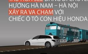 Video 3D mô phỏng vụ tàu hỏa tông ô tô khiến 6 người tử vong ở Hà Nội