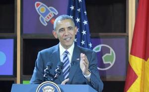 """Obama: """"Bạn nghèo không có nghĩa là bạn không thể trở thành doanh nhân"""""""