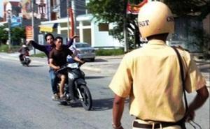 TP.HCM: Vi phạm giao thông bị truy đuổi, nam thanh niên đánh công an