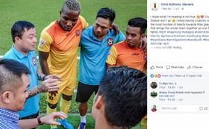 Tiền đạo ngoại gọi Trương Việt Hoàng là Zidane, không tin thầy chia tay Hải Phòng
