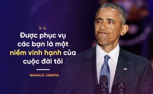 Toàn văn bài phát biểu chia tay của Tổng thống Mỹ Barack Obama