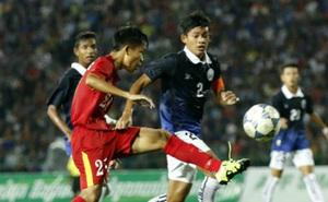 Sau 72 phút đáng nể, Campuchia nhận kết quả buồn trước Australia