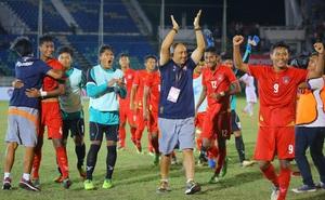 HLV Myanmar khen lấy khen để học trò Hoàng Anh Tuấn dù U18 Việt Nam bị loại