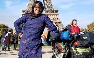 Chàng trai phượt bằng xe máy từ Việt Nam, vượt 20 nghìn km qua 23 quốc gia trong 150 ngày