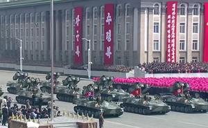 """""""Điểm danh"""" dàn vũ khí hùng hậu của Triều Tiên trong lễ duyệt binh"""