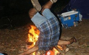 Chùm ảnh hài hước chứng minh một khi đã đi cắm trại thì không nên uống quá chén