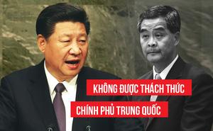 """Trung Quốc tuyên bố: Không để Hong Kong bị biến thành """"căn cứ chống phá Đại lục"""""""