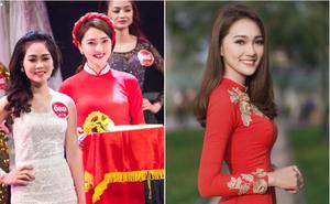 Nữ PG từng xinh lấn át dàn hoa khôi Kinh Bắc vừa giành giải Á khôi trong cuộc thi nhan sắc