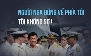 Tàu tuần dương hạm Nga cập cảng Philippines, Duterte liền tuyên bố hùng hồn về Moskva