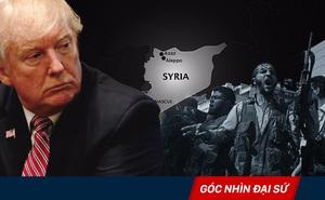Tại sao Tổng thống Trump quyết định chấm dứt giúp đỡ quân sự cho phe đối lập Syria?