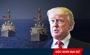 """Ông Trump phê chuẩn kế hoạch tuần tra của Mỹ ở Biển Đông: Không để TQ đặt trước """"sự đã rồi"""""""