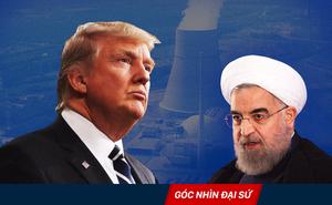 Đòi hủy thỏa thuận hạt nhân, ông Trump muốn gây sức ép với Iran tại Trung Đông?
