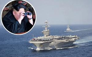 Nhóm tàu sân bay Mỹ tới Triều Tiên lộ lỗ hổng chí mạng