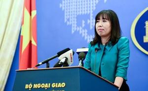 Bộ Ngoại giao nói về việc Mỹ chấp thuận chuyển tàu tuần tra lớp Hamilton cho Việt Nam