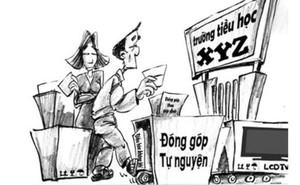 """Kỷ luật hiệu trưởng dùng """"tiểu xảo"""" để lạm thu"""