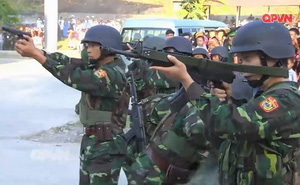 Trang bị hiện đại của Đặc nhiệm Biên phòng Việt Nam tham gia diễn tập cùng Trung Quốc