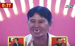 Trấn Thành, Trường Giang bật cười với màn... rụng răng của chị nhà nông