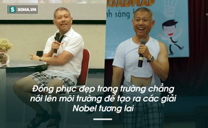 Thế kỷ 21 rồi, người Việt đừng nhìn vào cái quần cộc của GS Thành để đánh giá trí tuệ và sự sáng tạo, như thời thầy đồ thế kỷ 19