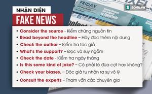Tin giả mạo ở Việt Nam và thế giới: Quá nguy hiểm!
