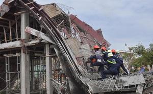 Thông tin về các công nhân gặp nạn trong vụ sập giàn giáo tại Bà Rịa-Vũng Tàu