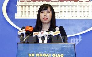 Việt Nam yêu cầu Đài Loan không diễn tập bắn đạn thật ở đảo Ba Bình