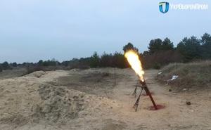 Bi hài: Được cấp súng cối 400 triệu, binh sĩ Ukraine phải ẩn nấp rồi dùng dây giật từ xa