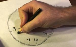 Hãy vẽ 1 chiếc đồng hồ để biết khả năng mất trí nhớ của bạn sẽ xảy ra vào lúc nào