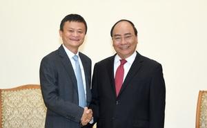 Thủ tướng Nguyễn Xuân Phúc tiếp tỷ phú Jack Ma