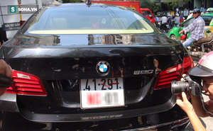 Ông Đoàn Ngọc Hải xử phạt ô tô BMW ngoại giao dán thẻ miễn trừ giả