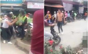 Bị nhắc nhở vì gây ồn ào, nhóm phượt thủ lao vào đánh một nam thanh niên trên đường