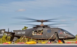 Lockheed Martin bay thử nghiệm trực thăng S-97 Raider