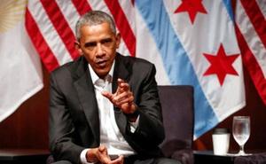 Ông Obama có thể diễn thuyết ở phố Wall với thù lao gần nửa triệu USD