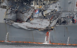 Vụ tai nạn của tàu USS Fitzgerald cho thấy khu trục hạm của Mỹ rất dễ bị tấn công?