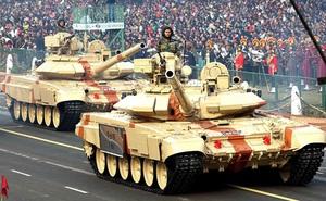 Lục quân Ấn Độ trang bị tên lửa thế hệ 3 cho xe tăng T-90