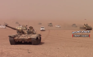 """QĐ Syria tấn công mãnh liệt, Deir Ezzor chuẩn bị sụp đổ: Mỹ """"cuống cuồng"""" ra tay"""