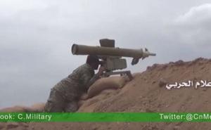 [VIDEO] Quân đội Syria bắn cháy hầu hết tăng thiết giáp phiến quân ở Hama
