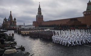 Tái hiện duyệt binh lịch sử 'Kỷ niệm 24 năm Cách mạng tháng 10 năm 1941
