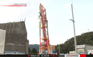 Nhật Bản chuẩn bị phóng thử tên lửa siêu nhỏ
