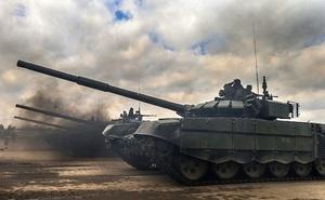 Nga bắt đầu giao xe tăng T-90 cho Iraq