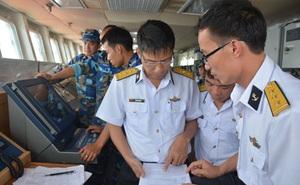 Tàu Hải quân Việt Nam tham gia diễn tập biển đa phương Hải quân Tây Thái Bình Dương