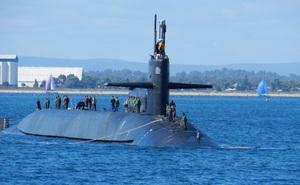 Kho vũ khí 154 tên lửa trên tàu ngầm Mỹ tới Triều Tiên