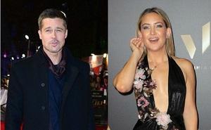 Brad Pitt đang hạnh phúc bên Kate Hudson