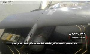 Hezbollah công bố hình ảnh UAV của Israel bị bắn hạ