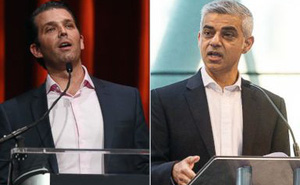Con trai ông Trump lớn tiếng chỉ trích thị trưởng London sau vụ khủng bố