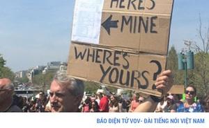 Mỹ: tuần hành yêu cầu ông Trump công khai thuế thu nhập cá nhân