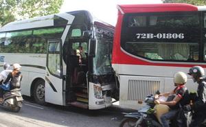 Vụ tai nạn đèo Bảo Lộc: Không có chuyện 2 xe khách dìu nhau