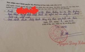 """Hà Tĩnh: Cán bộ Tài chính ép, xã """"phê bình cả nhà"""" tân sinh viên trong lý lịch"""