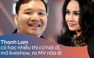 """Nhạc sĩ Nguyễn Hà: """"Thanh Lam có học nhiều thì cứ hát, mở liveshow, ra MV, chạy đua giải thưởng để chứng minh đi"""""""