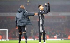 Lingard đang là gà son của Mourinho ở M.U