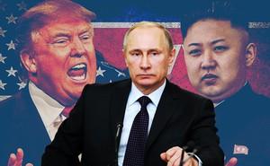"""Tổng thống Putin sẽ viện tới """"độc chiêu"""" ở Syria để ngăn chặn chiến tranh Mỹ-Triều?"""